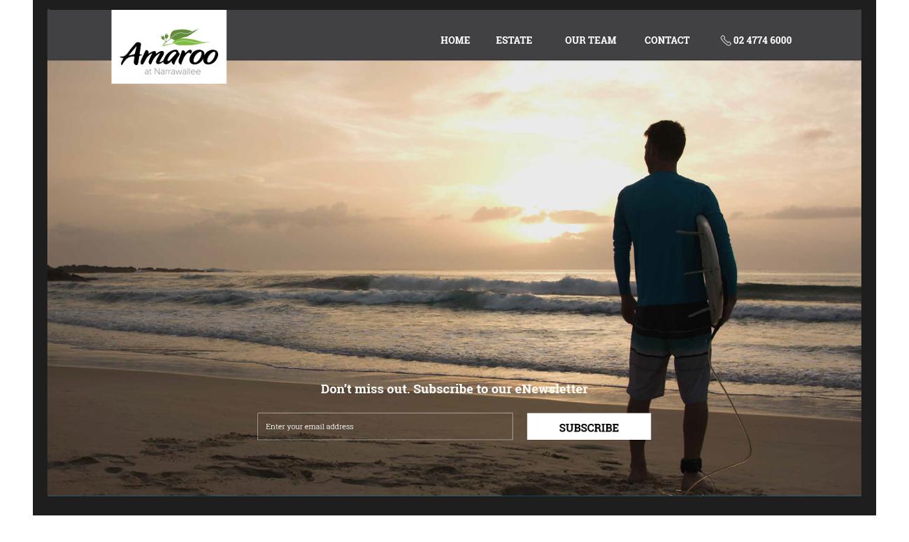 Amaroo site hero